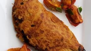Omelete Vegano de Grão de Bico