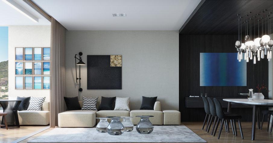 Apartamentos com três suítes & desing exclusivo