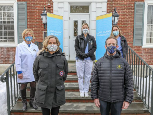 LIU Post Campus Becomes COVID-19 Vaccine Site