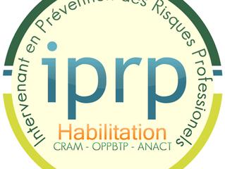 Pepa-qvt habilité IPRP par la DIRECCTE