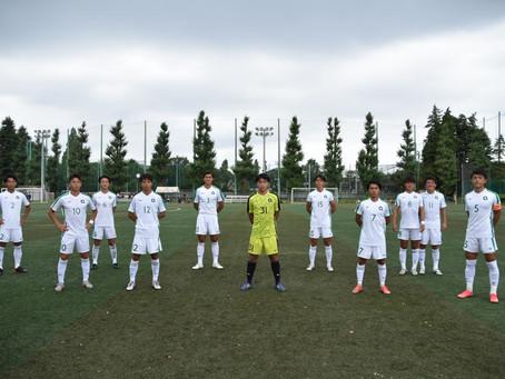 第54回 東京都大学サッカーリーグ1部 第19節 成蹊大学戦
