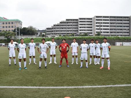 第54回 東京都大学サッカーリーグ1部 第21節 國學院大学戦