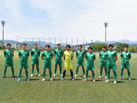 第54回東京都大学サッカーリーグ1部 第5節 成蹊大学戦