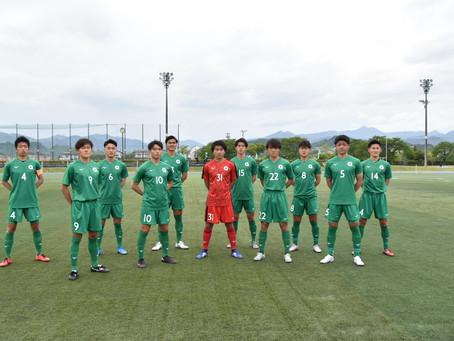 第54回東京都大学サッカーリーグ1部 第4節 大東文化大学戦