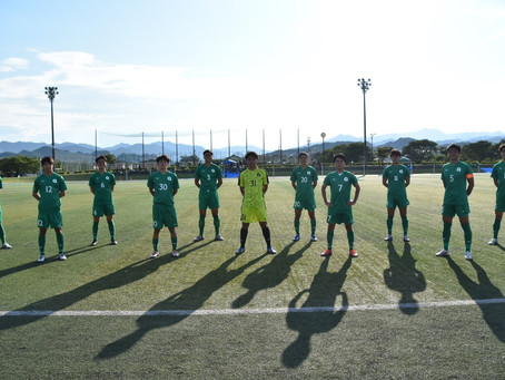 第54回 東京都大学サッカーリーグ1部 第16節 大東文化大学戦