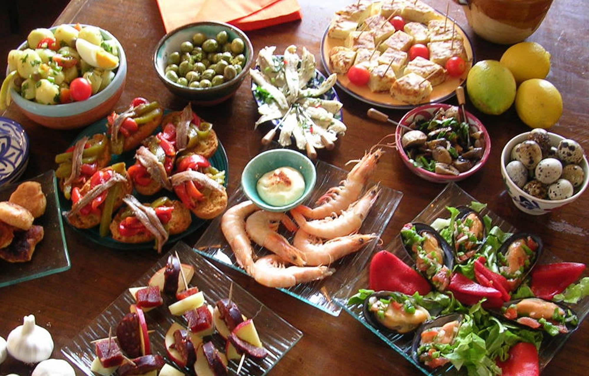 Tapeando: The Spanish Tapas Table