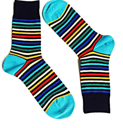 Most Colorful Striped Sox