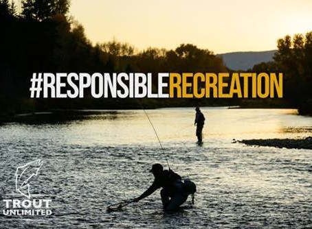 #ResponsibleRecreation: Join TU Social Distance Fishing Effort and Win Prizes