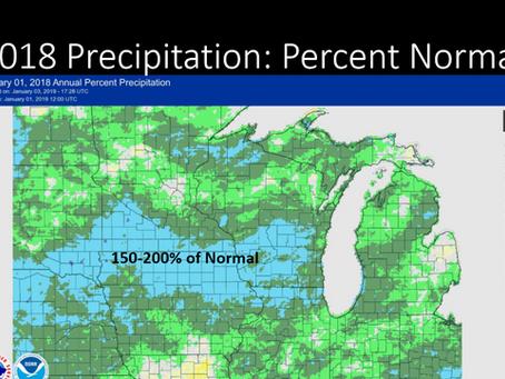 Weather change presentation