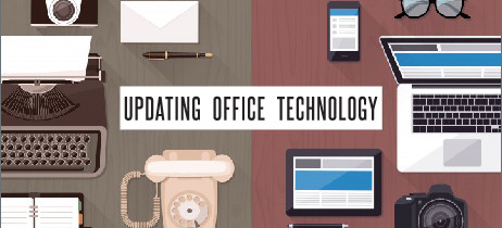 Is your office technology stuck in the '80s?