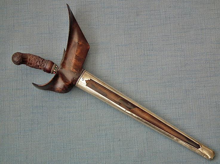 Antique 19th century Indonesian Java Madura Islamic Sword Dagger Kris Keris