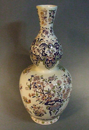 Antique French Faience Vase 19th century