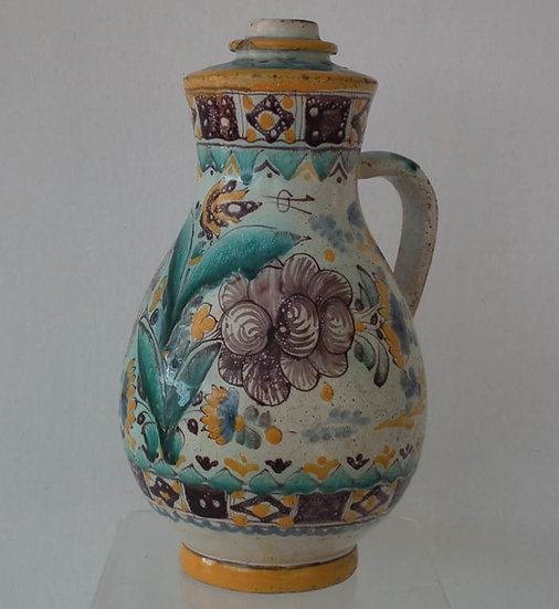 Antique 18th century Hungarian Stomfa Slovak Stupava German Stampfen Faience Fay