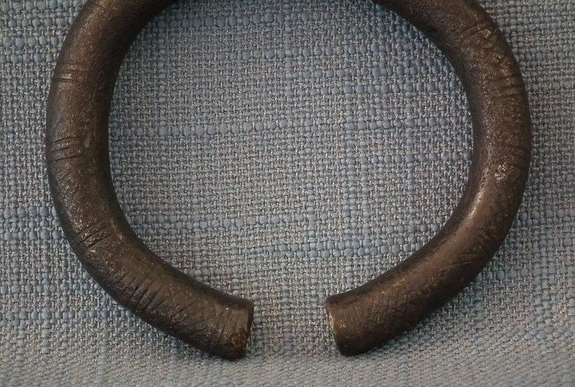 Ancient Celtic Warrior Bronze Armlet Torque Hallstatt Culture 1200 - 475 BC