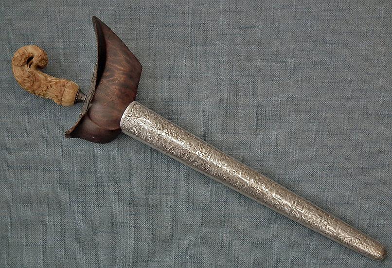 SOLD Antique Indonesian-Java Islamic Sword Dagger Madura Donoriko Kris Keris