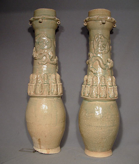 Antique Ceramic Vases Song Dynasty 1127-1279 AD