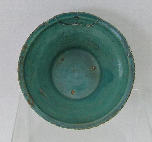 Antique Medieval Mamluk Islamic Ceramic Bowl Egypt or Syria 13th-14th c