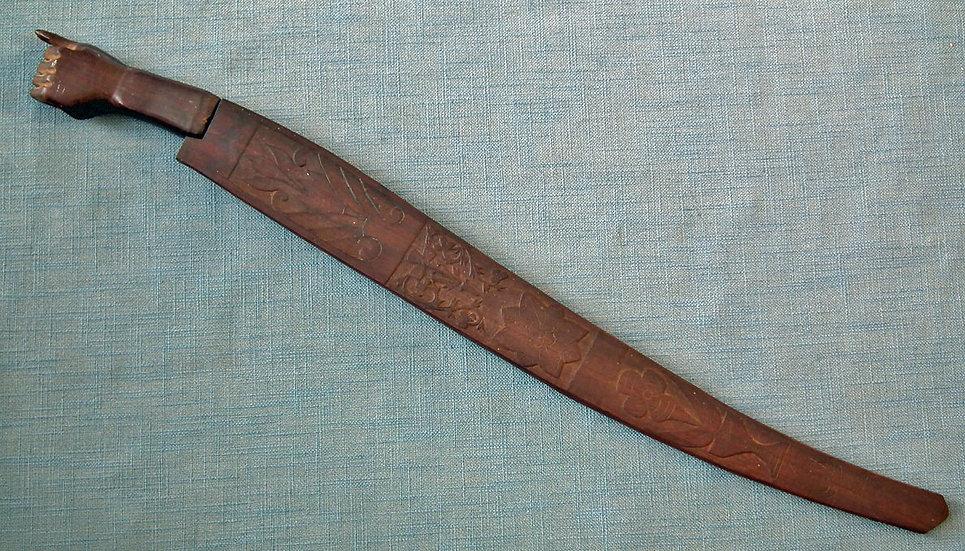 Antique Filipino Katipunian Apalit large Philippines Sword Talibong