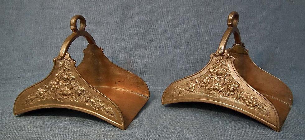 Antique 18th Century Islamic Turkish Ottoman Tombak Stirrups For Saddle