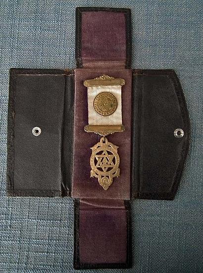 Antique Masonic Medal Royal Arch Companion Breast Jewel Freemasonry