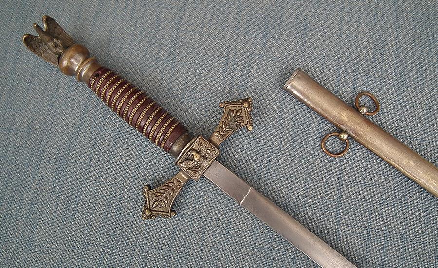SOLD Antique American Militia Officer's Sword Perhaps Civil War Or Indian Wars