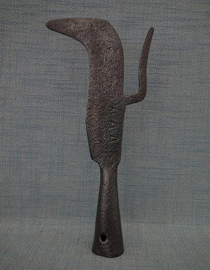 Antique 16th century German Halberd- Polearm Kriegsgertel With Beak