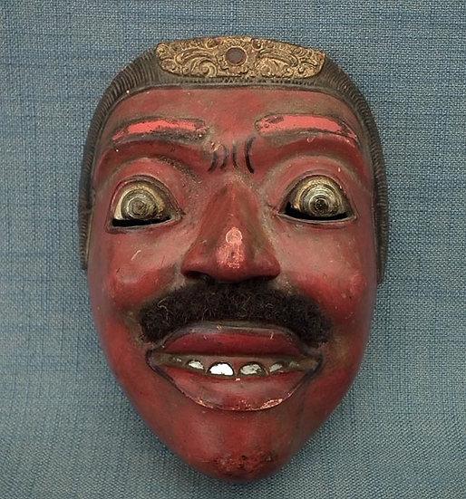 Antique 19th Century Indonesian-Javanese Wayang Topeng Mask