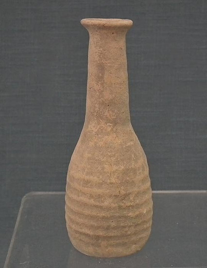 Ancient Holy Land Pottery Flask Time of Christ 1st century B.C.