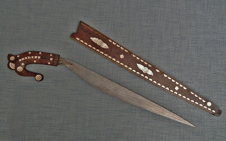 Antique Filipino Sword Philippines Talibong