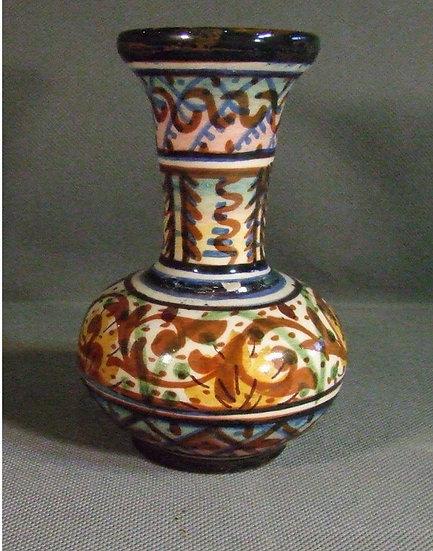 Antique European Majolica Vase, 18th-19th Century