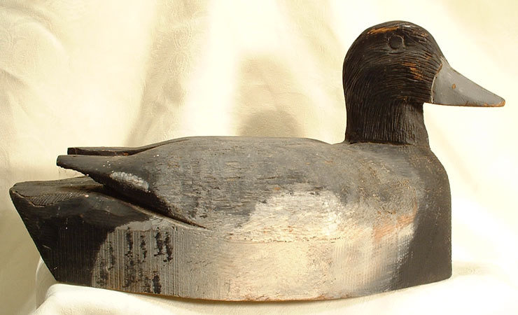 Duck Decoy Antique  19th Century (3)
