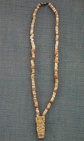 Antique Pre-Columbian Tairona Necklace circa 500 - 1500 AD