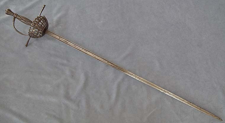 Authentic Antique over 100 years old European Sword Rapier