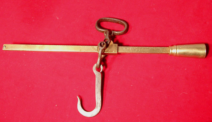 Antique Hanging Yard Scale dated 1930
