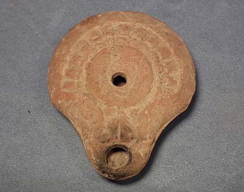 Ancient Imperial Roman Terracotta Oil Lamp 1st – 3rd Century A.D.