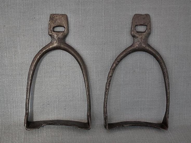 Rare Medieval 9th-10th century Jewish Khazar Saddle Stirrups