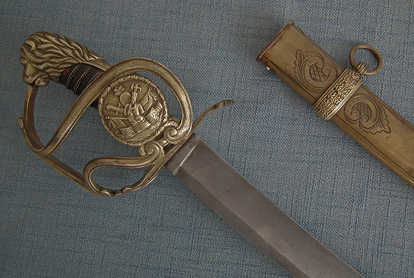 Antique Polish Cavalry Officer Sword Napoleonic Duchy Of Warsaw Poland 19th c