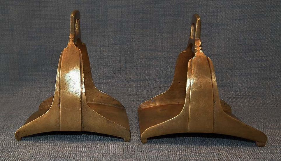 Pair Of antique 17th-18th Century Islamic Turkish Ottoman Stirrups