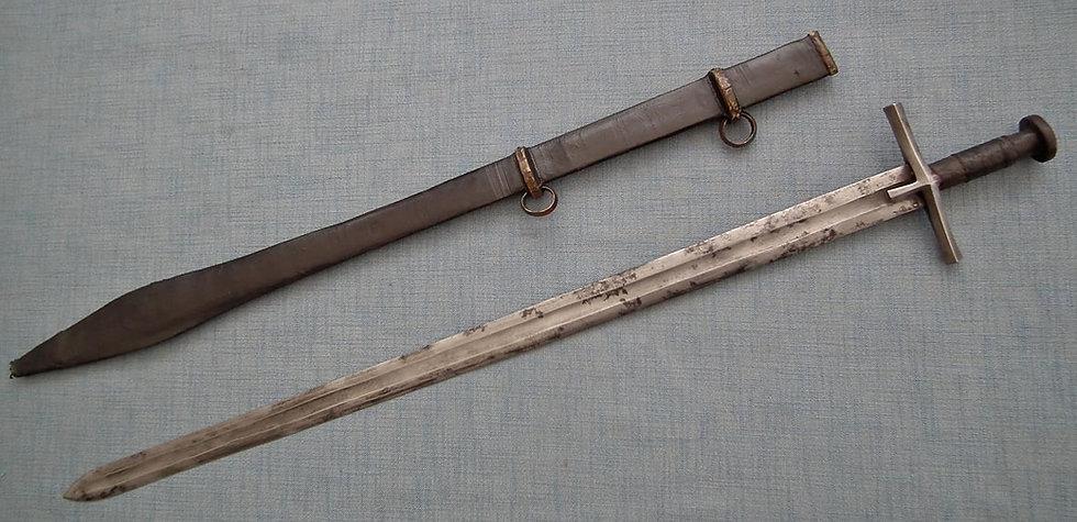 Antique Islamic Sword Kaskara Mahdist War Period 19th Century Sudan