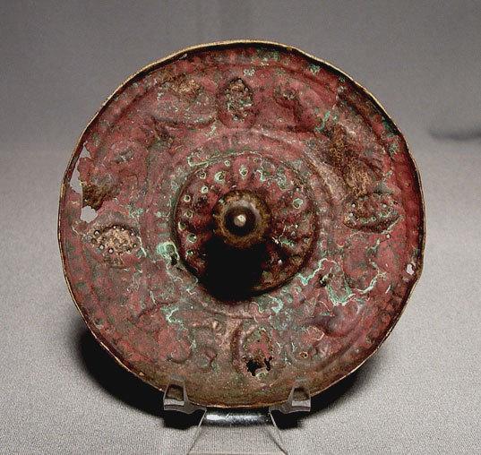 12th Century Antique Islamic Seljuk Bronze Tray