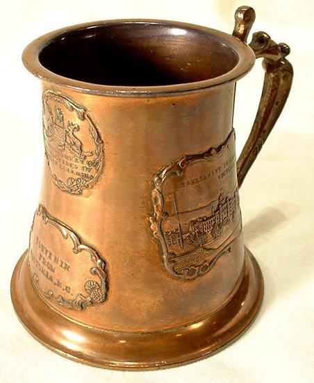 Antique Souvenir Cup Canada Victoria BC