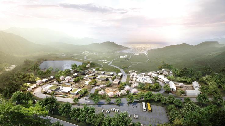 2020 _ CONCEPTUAL PLAN OF ARIRANG ART VILLAGE IN JINDO (master plan)