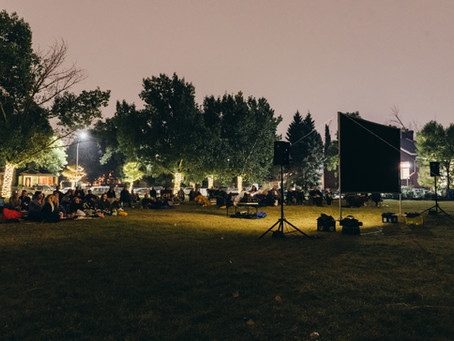 Movie in the park a magical event