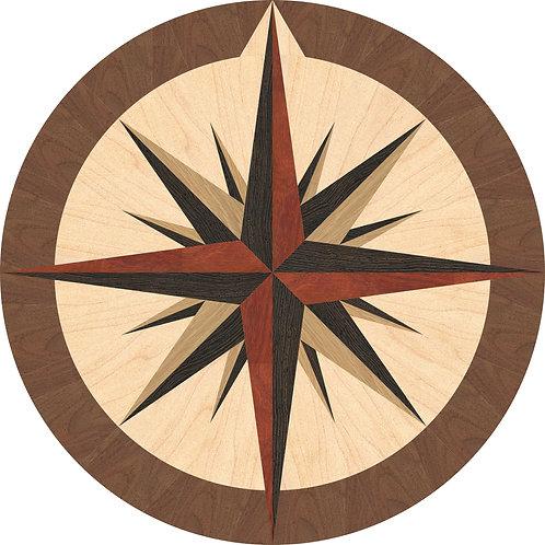 MRO016 Compass Rose Medallion