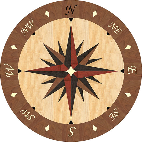 MRO002 Compass Rose Medallion