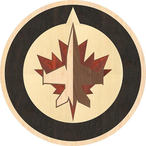MRO010B Winnipeg Jets' Team Logo