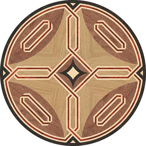 MRO025 Round Medallion, 'Balance'