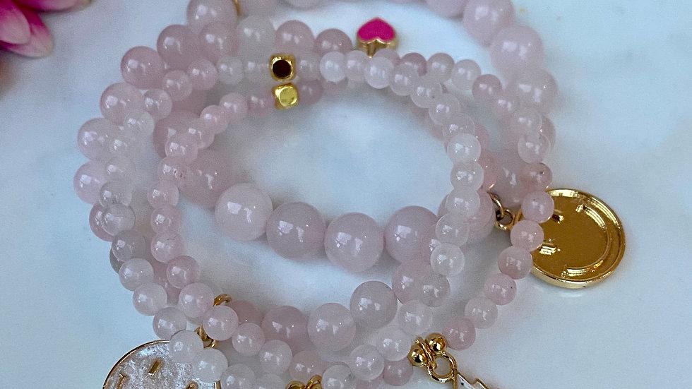 Rose Quartz Feel the Love Bracelet