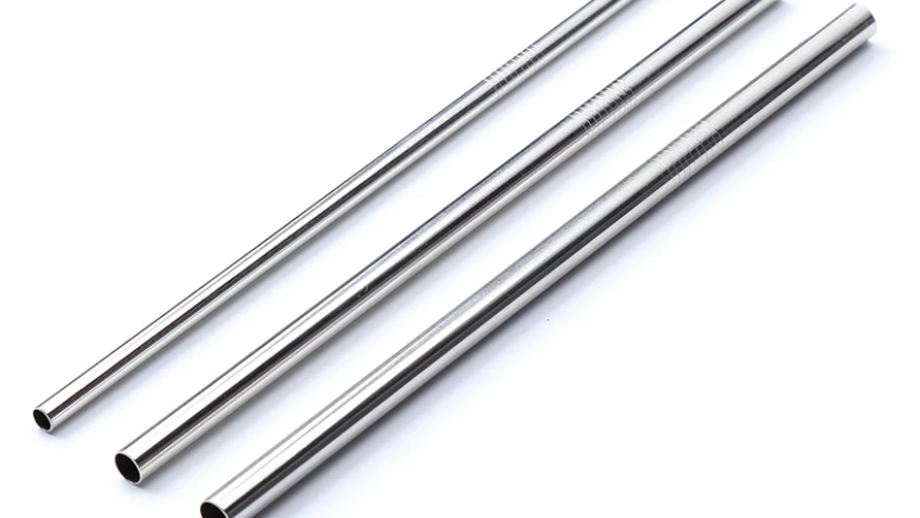 Long and Straight Stainless Steel Straw
