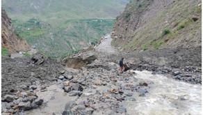 Flash Floods create havoc in Himachal's Lahaul Spiti region: 1 dead, 9 missing